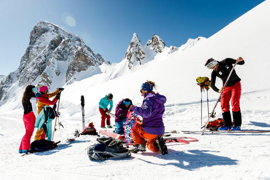 ski de randonnée tignes