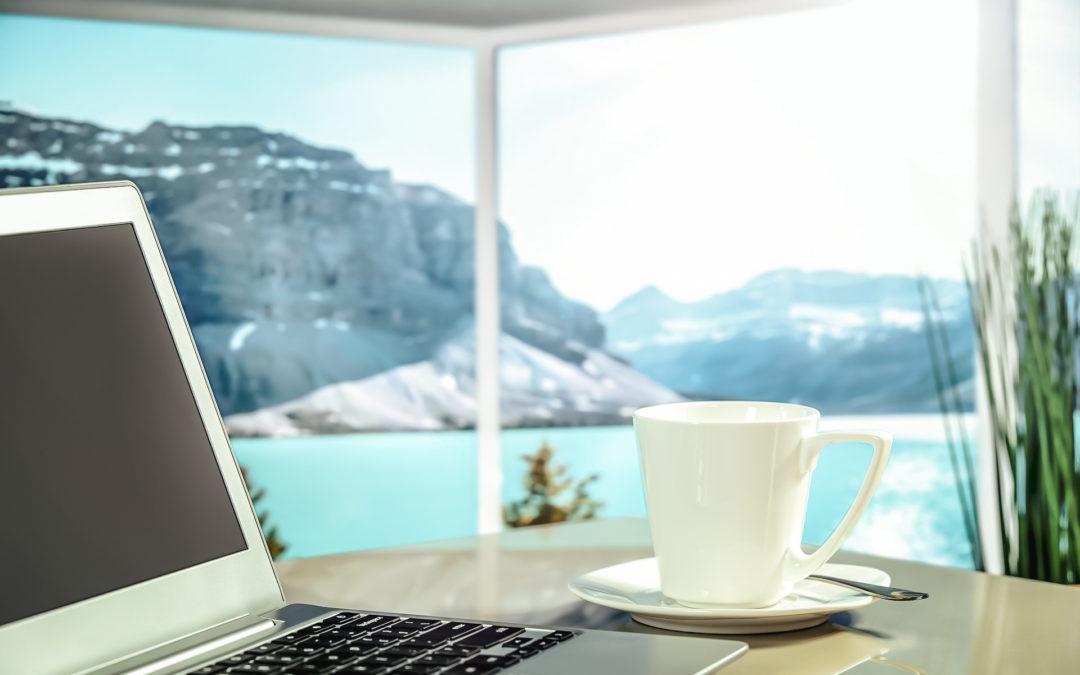 Télétravail à la montagne : 10 raisons pour mettre votre bureau au grand air !